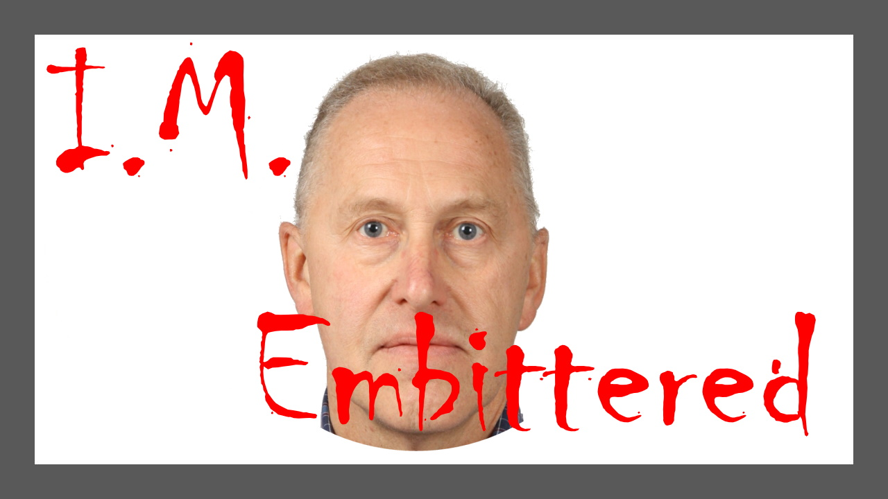 embittered