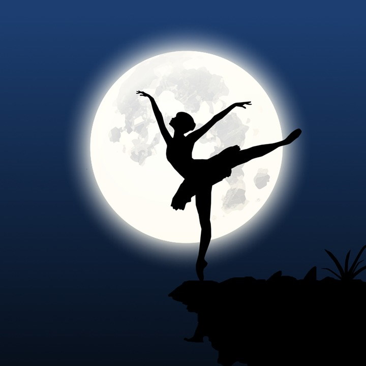 https://pixabay.com/illustrations/silhouette-dancer-cliff-moon-night-3177957/