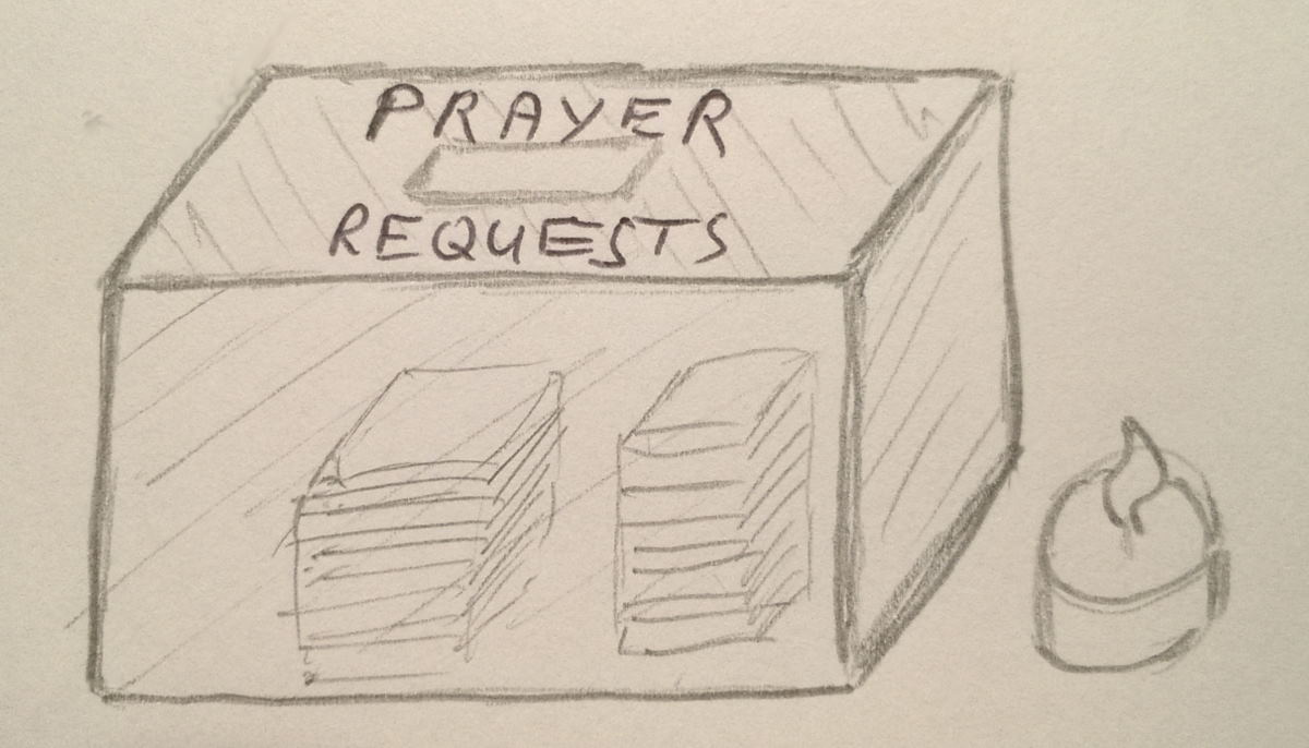 A box for continued prayed